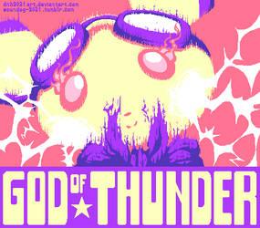 God Of Thunder by DNH2031ART