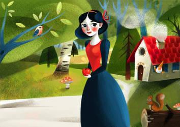 Snow White by Darkalia