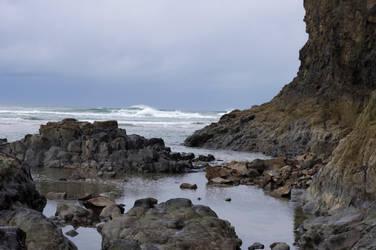 Tide Pools by Baelath