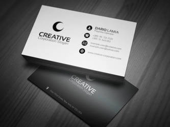 Modul 002: Creative (Corporate Business Card) by LamiaDC