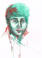 Portrait Study 2: Sleepy Cole by youalexi
