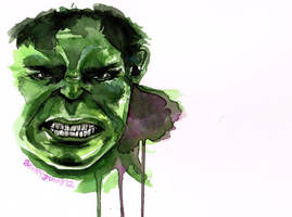 The Incredible Hulk by youalexi