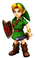 Young Link by kamtheman56