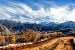 Cordillera de los Andes Chile by Vk30