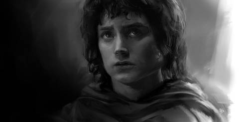 Frodo Baggins by OtherDistortion