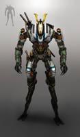 japan battle droid by OtherDistortion