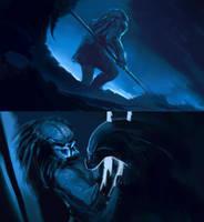 predator sketch by OtherDistortion
