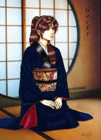Gackt in Kimono by kitchigai-koji