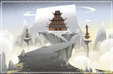 Temple by MichaelBills