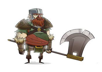 Hero Dwarf by MichaelBills