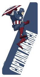 Captain America by MichaelBills