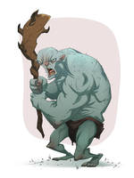 SKETCH DAILIES: TROLL by MichaelBills