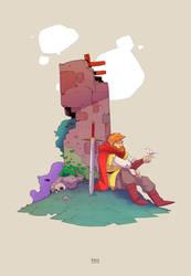 Knight Stuff 1 by MichaelBills