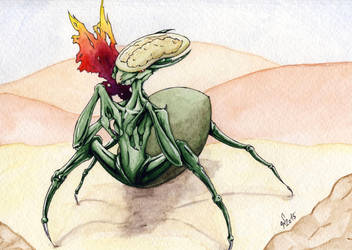 Alien by VictoriaSaviles