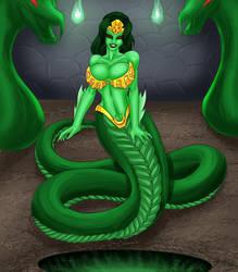 Onimara Serpentine Form by Chris Bayliss by ThePerilPimp