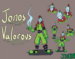 Jonos Valorous The Worse Centurion In the Galaxy by OrionTheMuse