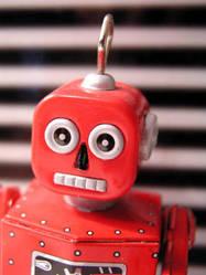robot by stripeymess