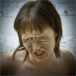 Latex Cyclops Prosthetic by HobbyFX