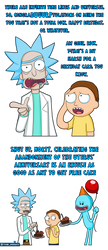 Rick and Morty Birthday card by Memoski