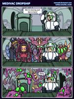 Hots comic - Medivac Dropship by Memoski