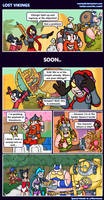 Hots comic - Lost Vikings by Memoski