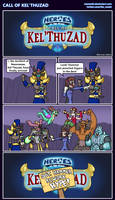 Hots comic - Call of Kel'Thuzad by Memoski