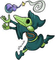 Shovel Knight - Plague Knight by Memoski