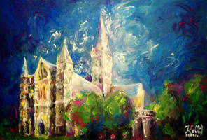 Salisbury Cathedral III by Keltu