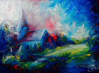 Rakvere Church by Keltu