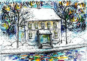 Colours in Winter by Keltu