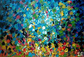 Wheatfield (with Crows) by Keltu