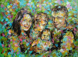 Family portrait by Keltu