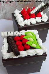 Chocolate cake boxes by SuperCat0000