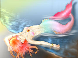 my mermaid color by cording44