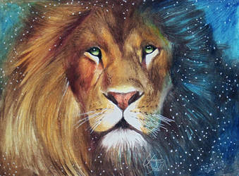 Drawing Animals 3 - A Lion (Aslan) by f-a-d-i-l
