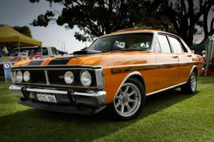 Ford 351 GT orange by StachRogalski