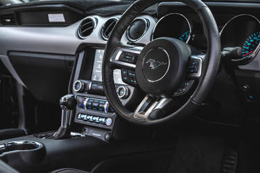 Ford Mustang Interior 3 by StachRogalski