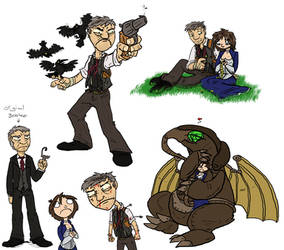 Bioshock Infinite Doodleledo by Heros-Shadow
