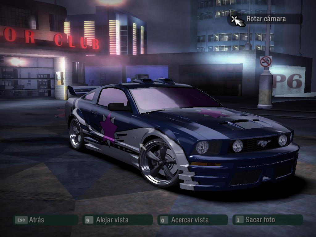 Nfs Carbon Ford Mustang Gt By I