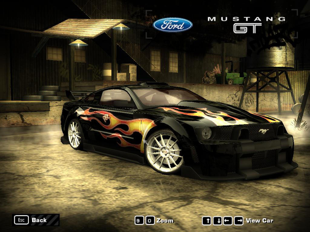 Nfs Most Wanted  Ford Mustang Gt By I