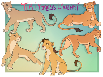 TLK Lioness Lines [P2U] by Machati