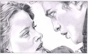 Twilight: Bella + Edward by jrecourt