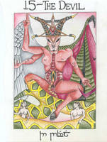 XV - The Devil by jrecourt