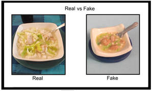 Real vs. Fake - Pozole by mieame