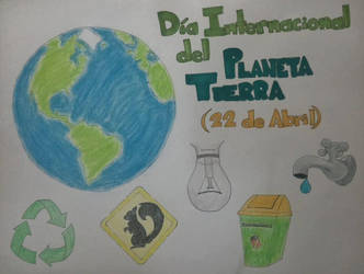International Day of the Earth - InfographicPoster by mieame
