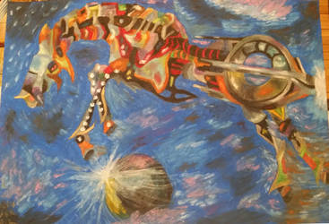 Quarian ship project by safija36
