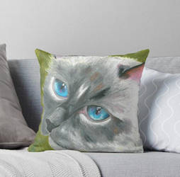 Cushion cat by safija36
