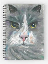 cat notebook by safija36