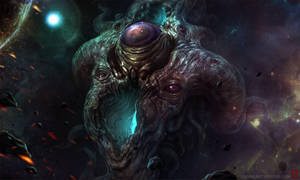 Azathoth Rising by TentaclesandTeeth