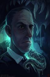 Lovecraft Illustration by TentaclesandTeeth